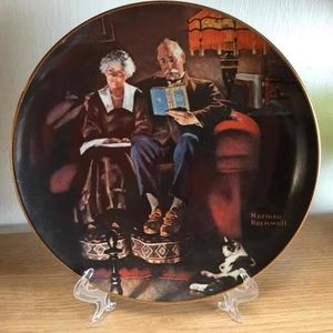 VTG Norman Rockwell Decorative Plate